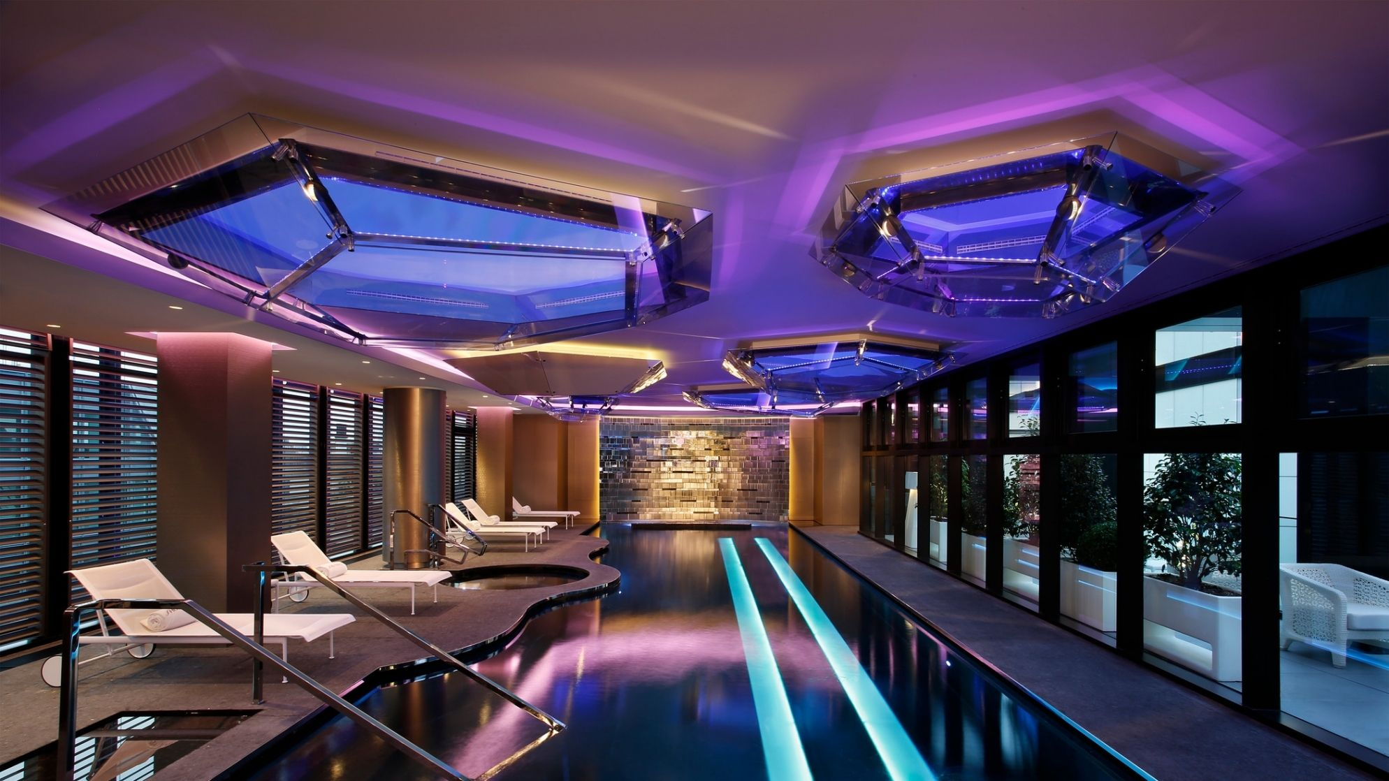 Shiseido Spa Milan relaxation